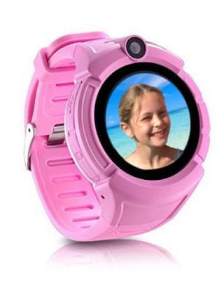 Carneo dětské smart hodinky s GPS GUARDKID  PINK - použité