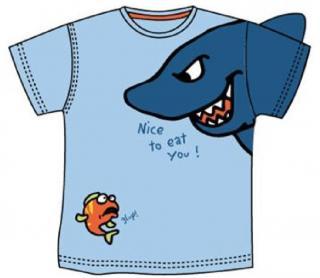 Carodel chlapecké tričko 116 modrá