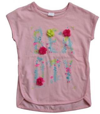Carodel dívčí tričko 110 růžová