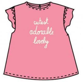 Carodel dívčí tričko 62 růžová