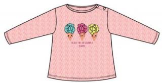 Carodel dívčí tričko 68 růžová