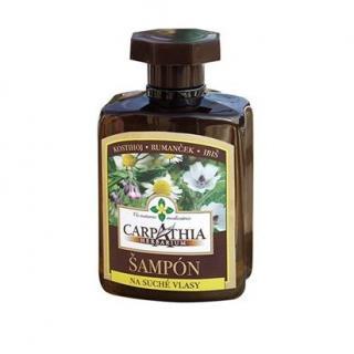Carpathia Herbarium šampon na suché vlasy 300ml