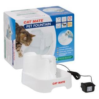 Cat Mate pítko pro domácí zvířata - Bílé