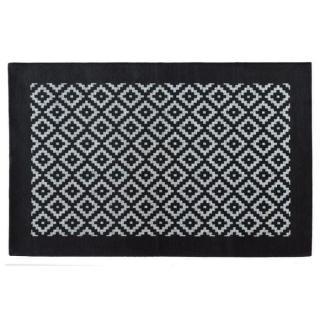 Cdiscount kusový koberec Desert Ethnic černý, 155x230cm