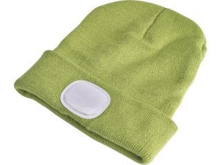 Čepice s čelovkou Extol Light - zelená