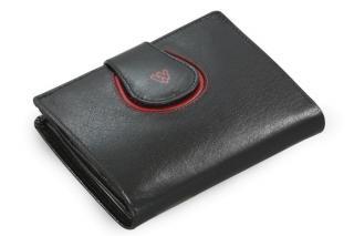 Černá dámská kožená peněženka Amanda