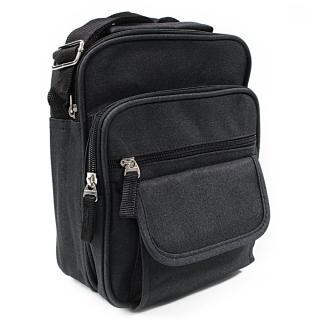 Černá pánská praktická crossbody taška Edric