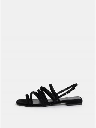 Černé dámské semišové sandály Vagabond Becky