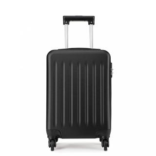 Černý cestovní velmi kvalitní prostorný kufr Bartie