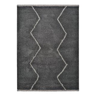 Černý koberec Universal Kasbah Sharp, 133 x 190 cm