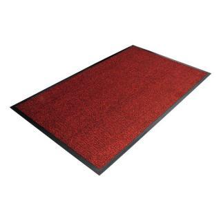 Červená Textilní Čistící Vnitřní Vstupní Rohož - 180 X 120 Cm