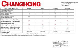Changhong CHiQ L32G5000 - rozbaleno