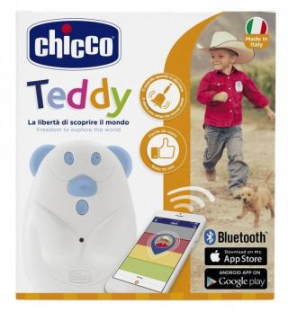 Chicco GPS Teddy lokátor pro děti - rozbaleno