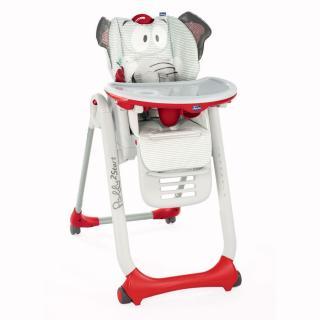 Chicco Židlička jídelní Polly 2 Start - Baby Elephant