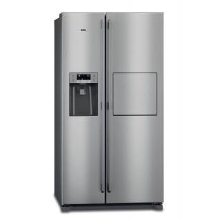 Chladnička s mrazničkou AEG RMB66111NX nerez