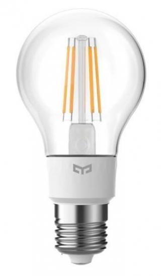 Chytrá žárovka Yeelight Smart Filament, E27, 6W, teplá bílá