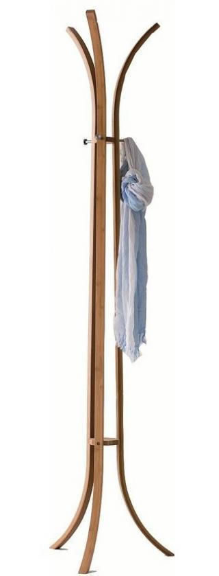 Compactor Bamboo bambusový věšák na oblečení - tříramenný 48 x 177 cm - zánovní