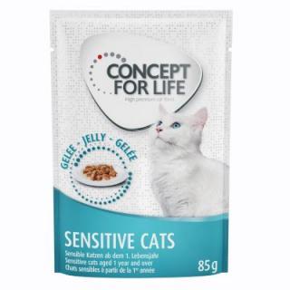Concept for Life Sensitive Cats - v želé - 48 x 85 g