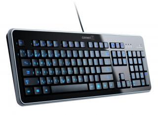 Connect IT CI-45 LED podsvícená klávesnice, USB - zánovní