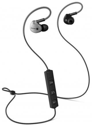 Connect IT Wireless Sport Sonics Bluetooth bezdrátová sluchátka, antracitová - zánovní