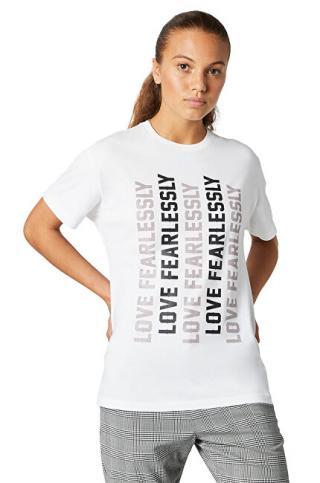 Converse Dámské triko Converse W Womens Love Relaxed Tee XL