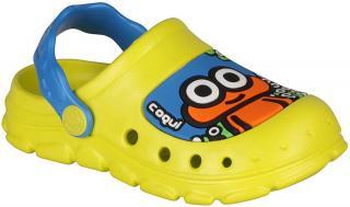 Coqui chlapecké sandály Stoney 21.5 žlutá - zánovní