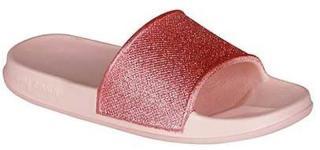 Coqui Dětské pantofle Tora Candy Pink Glitter 7083-304-4100 26-27