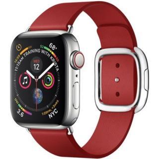COTEetCI Nobleman kožený řemínek Apple Watch 38/40mm červený