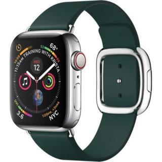 COTEetCI Nobleman kožený řemínek Apple Watch 38/40mm tmavě zelený
