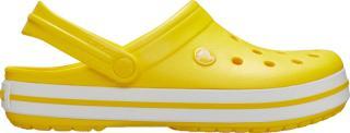 Crocs Dámské pantofle Crocband Lemon/White 11016-7B0 36-37