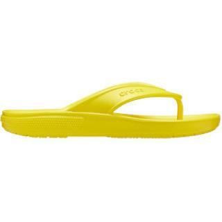 Crocs Dámské žabky Classic II Flip Lemon 206119-7C1 41-42
