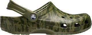 Crocs Pánské pantofle Classic Printed Camo Clog Army Green 206454-309 42-43