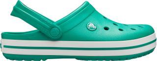 Crocs Pánské pantofle Crocband Deep Green/White 11016-3TL 43-44