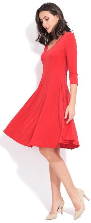 Dámské šaty Fille Du Couturier Nani, červené