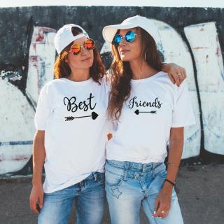 Dámská trička Best Friends pro nejlepší kamarádky