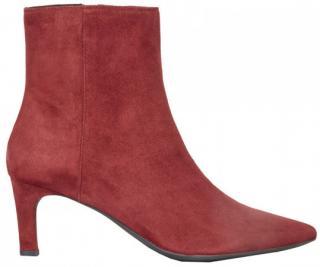 Dámské kotníkové boty D Bibbiana Bordeaux D829CB-00021-C7005, 37