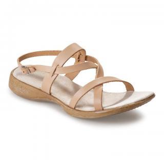 Dámské kožené vycházkové sandály vel. 37