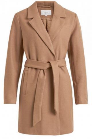 Dámský kabát VILUS JACKET-NOOS Dusty Camel - velikost 40,