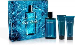 Davidoff Cool Water Man - EDT 125 ml   sprchový gel 75 ml   balzám po holení 75 ml