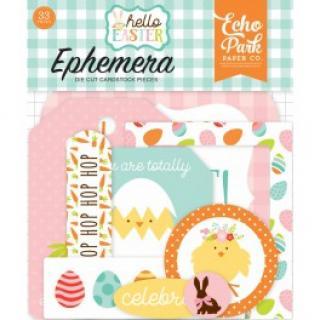 Dekorace a výřezy - Hello Easter Ephemera - Echo Park  127235