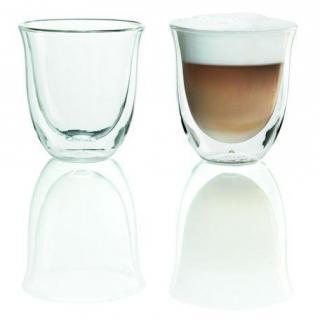 DeLonghi Cappuccino skleničky set 2 x 0,19L