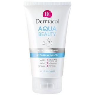 DERMACOL Aqua Beauty 3in1 Face Cleaning Gel 150 ml