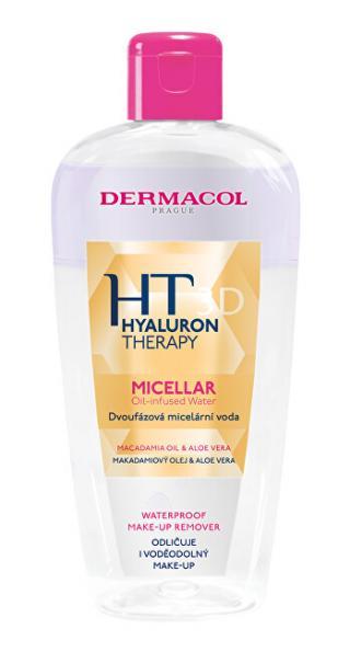 Dermacol Dvoufázová micelární voda Hyaluron Therapy 3D  200 ml