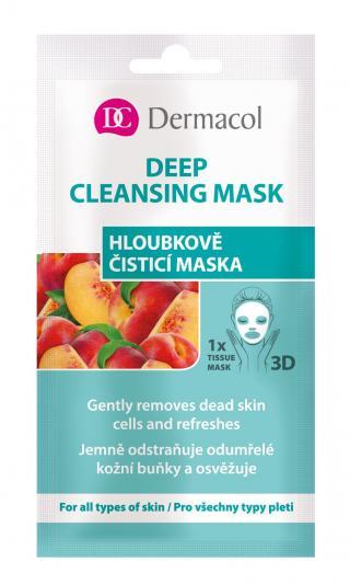 Dermacol Hloubkově čistící textilní maska 1 ks