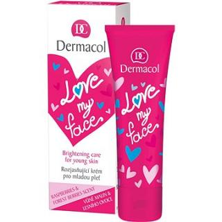 DERMACOL Love My Face Brigthening Care Rasberries & Forst Berries Scent 50 ml