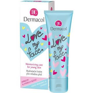 DERMACOL Love My Face Moisturizing Care Apricot & Vanilla Scent 50 ml