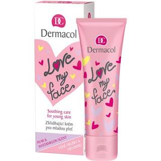 DERMACOL Love My Face Soothing Care Pear & Watermelon Scent 50 ml