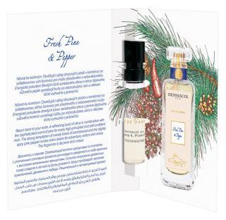 Dermacol Parfémovaná voda pro muže s vůní borovice a růžového pepře Fresh Pine and Pepper tester 2 ml