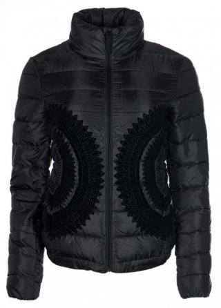 Desigual dámská bunda Pune 40 černá