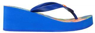 Desigual Dámské žabky Shoes Lola Azul Lovely 20SSHP05 5099 37